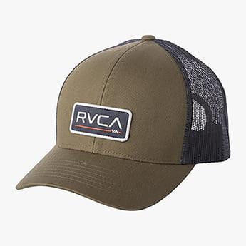 Бейсболка с сеткой Rvca Ticket Trucker Olive