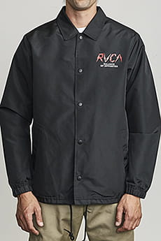 Ветровка Rvca Berni Coaches Jacket Black