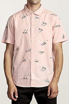 Рубашка Rvca Johanna Gestures Pink