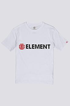 Футболка детская Element Blazin Boy Optic White