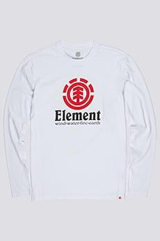 Лонгслив Element Vertical Optic White