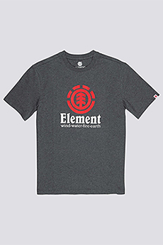 Футболка Element Vertical Charcoal Heathe-39
