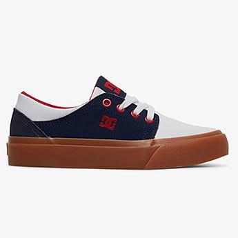 Кожаные детские кеды Trase DC Shoes