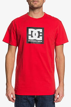 Футболка DC Shoes Square Starss2 M Tees Racing Red