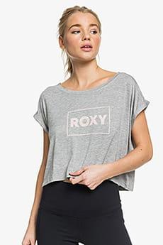 Футболка женская Roxy Empty Strts Tee J Tees Sgrh Heritage Heather