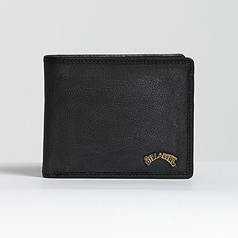 Кошелек Billabong Arch Id Leather Black