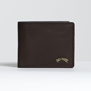 Кошелек Billabong Arch Id Leather Chocolate