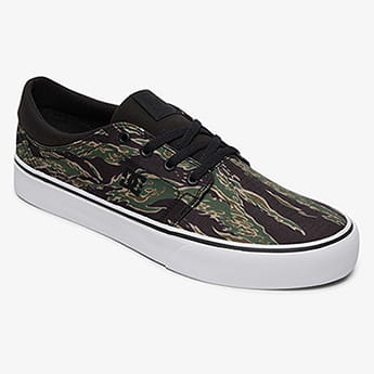 Кеды DC Shoes Trase Brown Camo