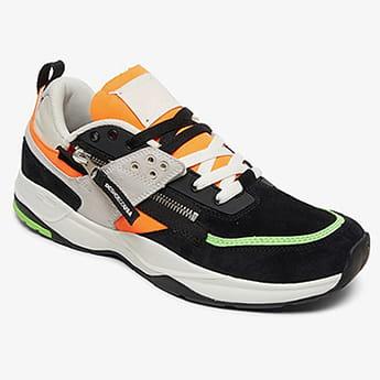 Кроссовки DC Shoes E.tribeka Fluorescent Green/Wh