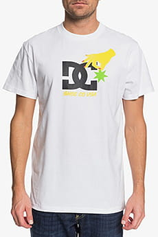 Футболка DC Shoes Keep Str In Plc M Tees Wbb0 White