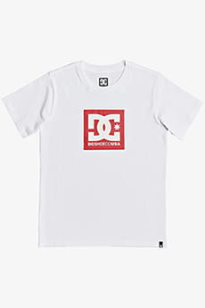 Футболка DC Shoes Square Star White/Red