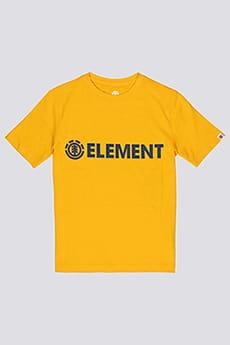 Футболка детская Element Blazin Boy Gold