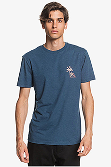 Футболка QUIKSILVER Morningbirdss Tees Majolica Blue