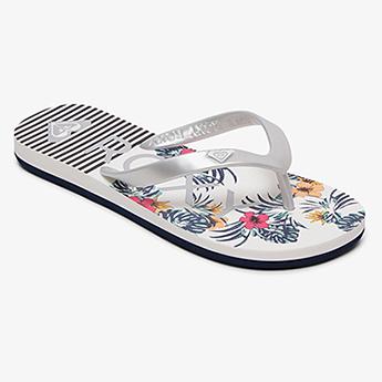 Вьетнамки детские Roxy Tahiti Vii G Sndl Ws4 White Silver