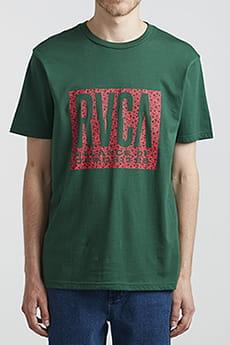 Футболка Rvca Balance Ss Green