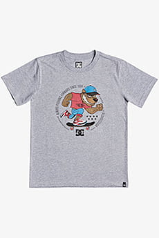 Футболка детская DC Shoes Pitbowl Ss Boy B Tees Knfh Grey Heather