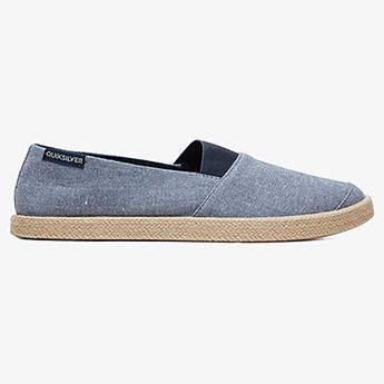 Слипоны QUIKSILVER Espadrilled Shoe Blue/White/Blue