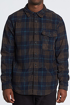 Рубашка в клетку Billabong Furnace Flannel Navy