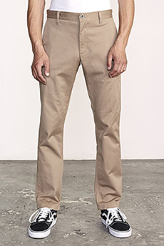 Брюки Rvca The Weekend Stretch Dark Khaki