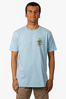 Футболка Rip Curl Search Roots Tee Blue Heather