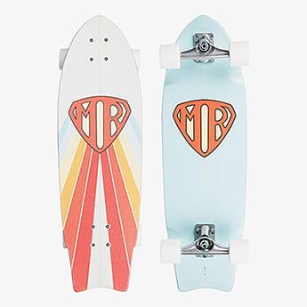 Скейтборд в сборе QUIKSILVER Mr Super Bmj0