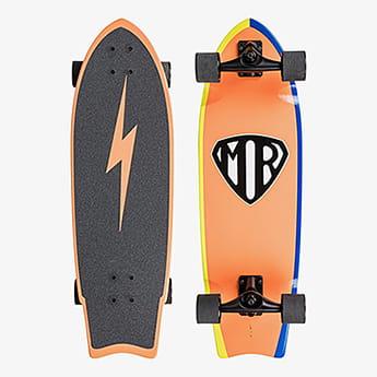 Скейтборд в сборе QUIKSILVER Mr Super Nza0 1