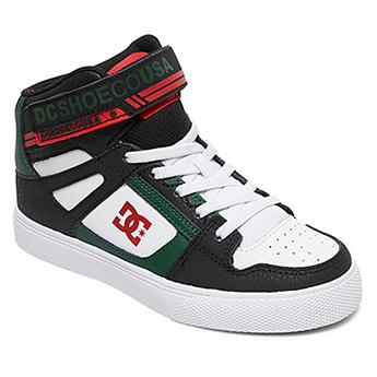 Кеды детские DC Shoes Pure Ht Ev Black/Green
