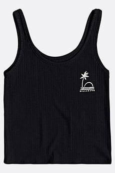 Майка женская Billabong Cut Off Tank Black