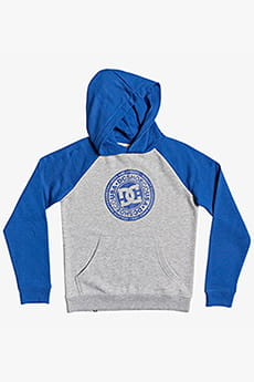Толстовка детская DC Shoes Circle Star Phb B Xsbb Grey Heather/Nautica