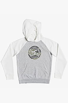 Толстовка детская DC Shoes Circle Star Phb B Otlr Xssw Grey Heather/Snow
