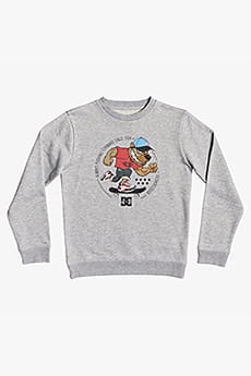 Джемпер детский DC Shoes Pitbowl Crew Bo B Knfh Grey Heather