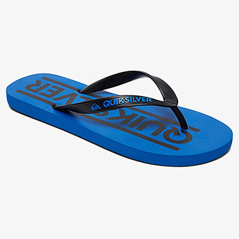 Вьетнамки детские QUIKSILVER Java Wordmarkyt B Black/Blue/Black-87