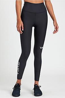 Леггинсы женские Rvca Rvca Sport Legging I Black