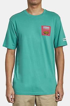 Футболка Rvca Taqueria Ss Vintage Green