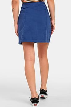Юбка женская Rvca Oconnor Federal Blue