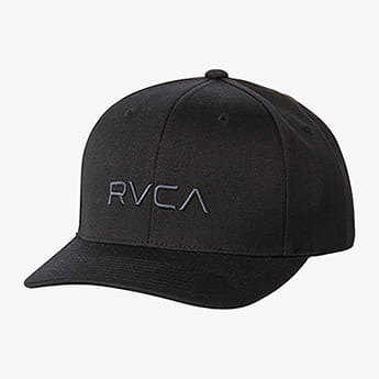 Бейсболка Rvca Flex Fit Black
