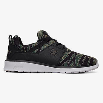 Кроссовки DC Shoes Heathrow Black/Camo Print