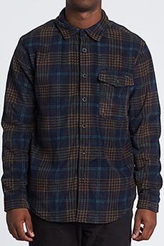 Рубашка в клетку Billabong Furnace Flannel Navy