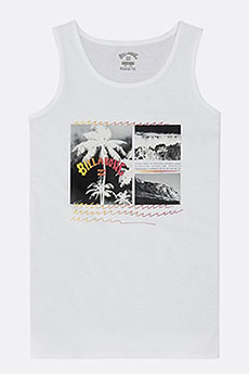 Майка детская Billabong Crash Tank Boy White