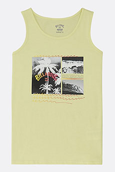 Майка детская Billabong Crash Tank Boy Neo Lemon