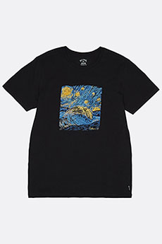 Футболка Billabong Night Session Tee Black