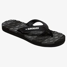 Вьетнамки QUIKSILVER Massage Black/Black/Grey