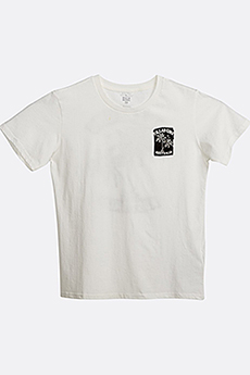 Футболка детская Billabong First Tee Ss Salt Crystal