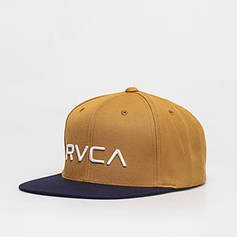 Бейсболка Rvca Twill Snapback Tan