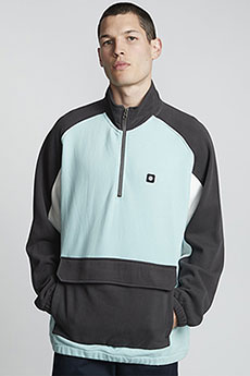 Толстовка кенгуру Element Block Qtr Zip Track Canal Blue