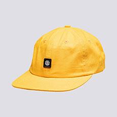 Бейсболка с прямым козырьком Element Pool Cap Gold