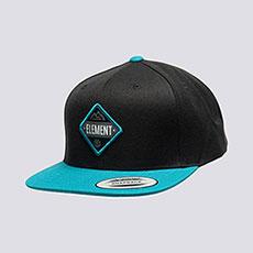 Бейсболка с прямым козырьком Element Trekker Cap Original Black