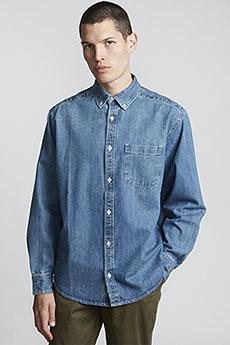 Джинсовая рубашка Element Bold Ls Washed