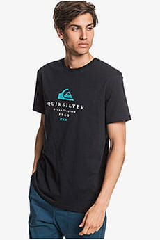 Футболка QUIKSILVER Firstfiress M Tees Black