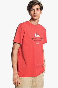 Футболка QUIKSILVER Firstfiress M Tees Baked Apple